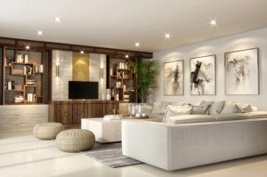 Interior Ruang Keluarga Keren
