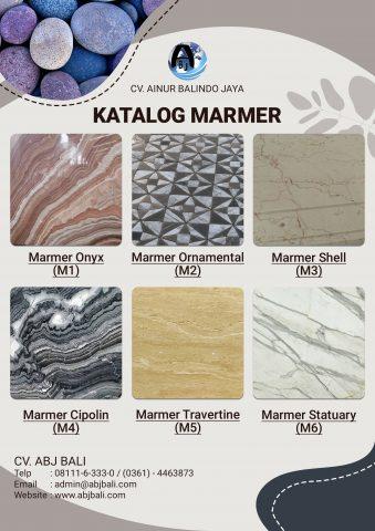 Katalog Marmer ABJ Bali