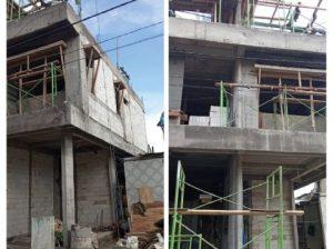 Konstruksi Rumah Tinggal 3 Lantai